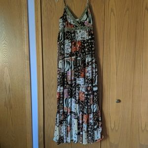 Long flowy sundress